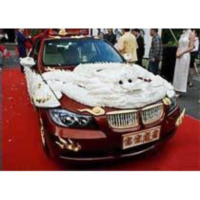 На аукцион выставлено авто из слоновой кости