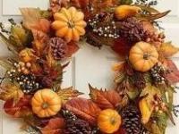 Осенний венок на дверь от Dremel
