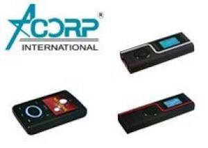 Acorp представляет новинки MP3 плееров