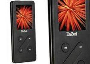 Медиаплеер DaZed V-62 — скоро в продаже