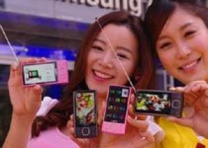 Samsung YP-RB: медиаплеер со встроенным цифровым ТВ-приемником стандарта DMB