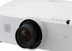 Новый проектор Sanyo LP-ZM5000