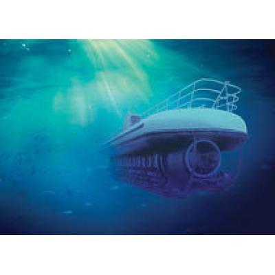 Туристическая подводная лодка - популярный аттракцион