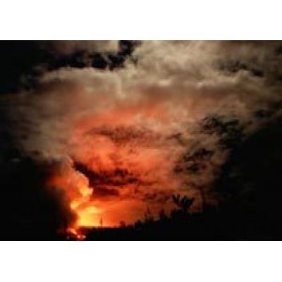 На острове Реюньон – извержение века