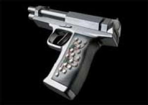 Новый пистолет узнаёт кисть хозяина