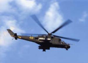 Названы версии катастрофы вертолета Ми-24
