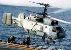 Со дна Балтийского моря достали утонувший вертолет