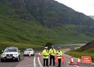 При крушении истребителя в Шотландии погибли пилот и штурман