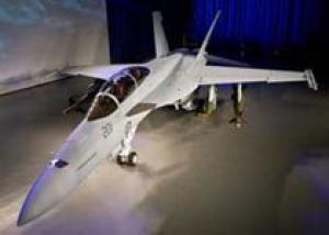 В США представлен первый истребитель F/A-18F для Австралии