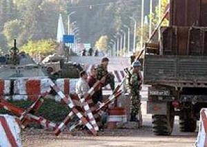 В Абхазии российские военные заперли граждан Грузии в детском саду