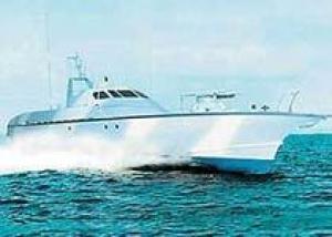 ВМС Туркмении получили два патрульных катера `Соболь` производства российской фирмы `Алмаз`