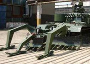 Румынская армия завершила испытания новой тяжелой гусеничной инженерной машины DMT-85M1