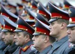 Милиционеры начнут получать новую форму во втором полугодии 2010 года
