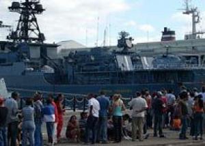 `Адмирал Чабаненко` сопроводит конвой судов в Аденском заливе