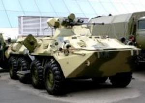 Новые БТР в армию поступят летом 2010 года