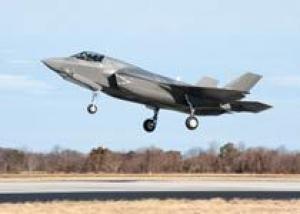 Великобритания впервые испытала истребитель F-35