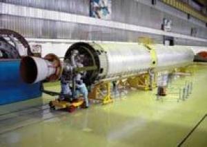 Пусковые сооружения стартового комплекса под ракету `Ангара` на космодроме Плесецк смонтированы на 80 процентов