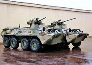 БТР-82 и БТР-82А проходят испытания