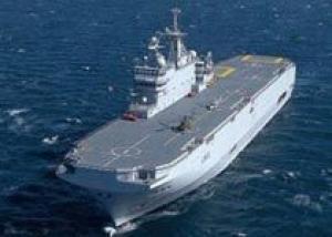 Франция пообещала Литве продать России `гражданскую` версию `Мистраля`