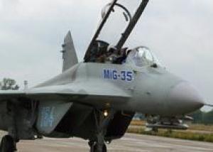 МиГ-35 продемонстрирует оружие в воздухе в рамках индийского тендера