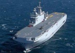 Франция предложила России два вертолетоносца `Мистраль`