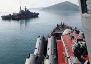 Военные учения Тихоокеанского флота начались в Японском море