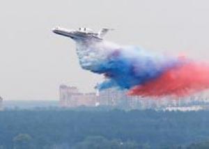 Российский самолет-амфибия сорвал аплодисменты на авиасалоне в Чили