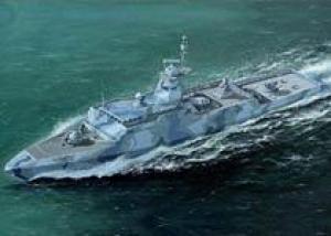 Заложен первый ракетный катер для ВМС Египта