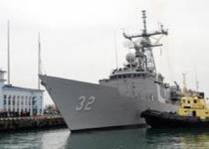 Корабль ВМС США `John L. Hall` вошел в территориальные воды Грузии