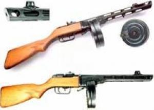 7,62-мм пистолет-пулемет Шпагина ППШ-41