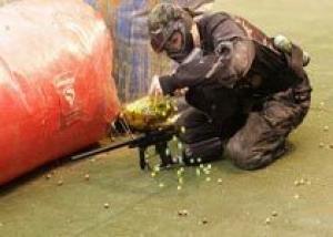 Кадетские корпуса на сборах будут использовать пейнтбольное оружие