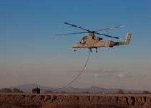 Kaman Aerospace испытала систему сброса груза с беспилотника
