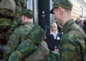 Военкоматы направили в Вооруженные силы РФ более 70 тысяч призывников