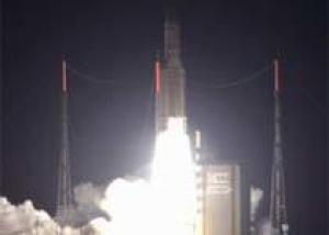 Ракета-носитель Ариан-5 вывела два спутника на геостационарную орбиту