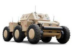 Армия США начала испытания шестиколесного робота