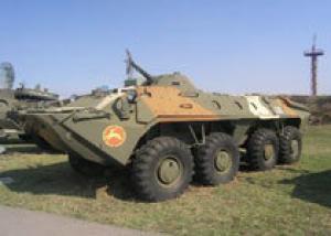 Казахстан модернизировал бронетранспортеры БТР-70