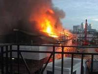 На `Катти Сарк` вспыхнул пожар