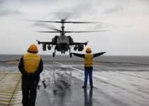 `Мистрали` в составе ВМФ РФ будут оснащаться отечественными вертолетами Ка-27К, Ка-29К и Ка-52К
