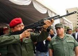 Венесуэла начнет производство автоматов Калашникова в мае 2011 года