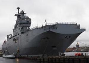 Франция может построить для России первый `Мистраль` к 2014 году