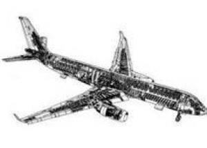 Успешно совершил первый полет новый авиалайнер `Туполева`