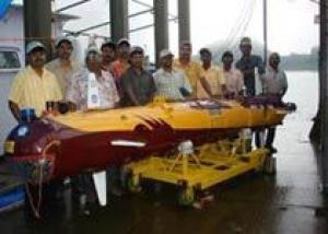 В Индии пройдут испытания подводного робота