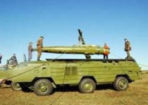 Российская база в Южной Осетии получила ракетный комплекс `Точка-У`