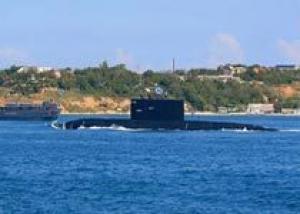 Подлодка ЧФ `Алроса` готовится к учениям у берегов Испании
