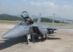 F-15E впервые совершил полет с новым радаром