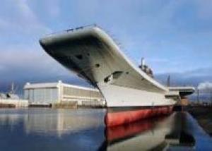 Корабелы Северодвинска начали подготовку к испытаниям авианосца ВМС Индии `Викрамадитья`