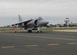 ВМС Испании получили первый модернизированный истребитель Harrier