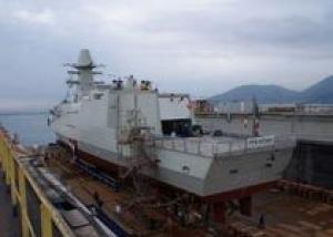 Fincantieri спустила на воду первый корвет ВМС ОАЭ