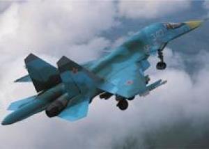 Начались испытания серийных Су-34 для ВВС России