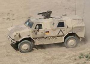 Германия докупит 39 бронемашин Dingo 2